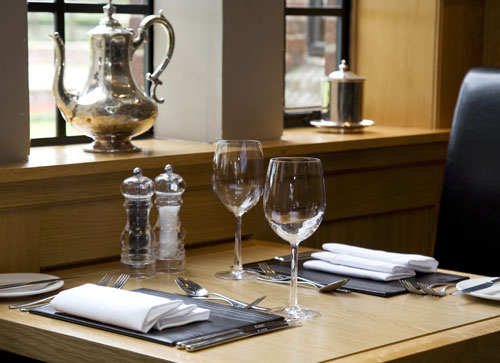 Fine Dining in the Jockey Club Restaurant within the Hotel