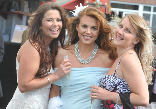 Glamour and glitz is all part of the raceday experience