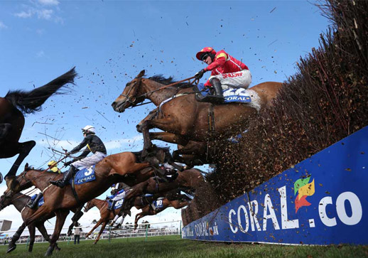 Spectacular jumps action at Ayr