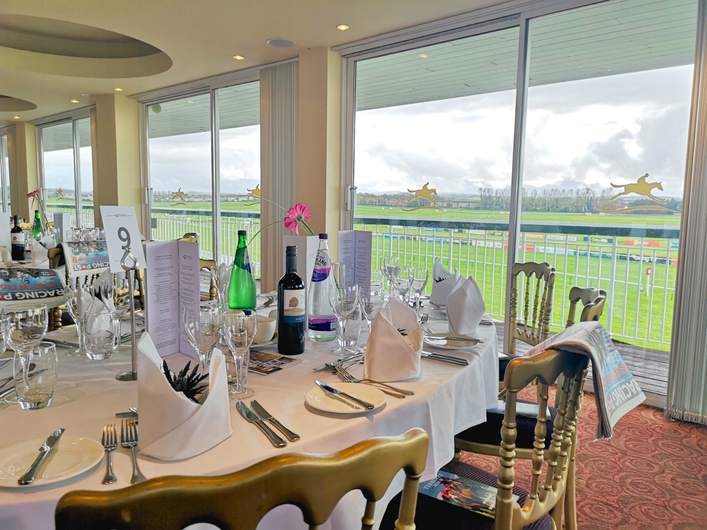Hospitality at Ayr Racecourse